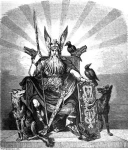 Odin With Geri And Freki: Wolves In Mythology And Legends