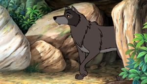 Raksha In One Of The Jungle Book Animations